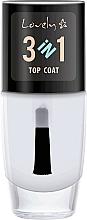 Fragrances, Perfumes, Cosmetics Top Coat - Lovely Top Coat 3in1