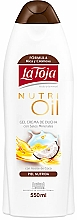 Fragrances, Perfumes, Cosmetics Natural Oil Shower Gel - La Toja Hidrotermal Nutri Oil Shower Gel