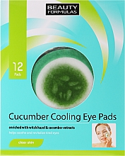 Fragrances, Perfumes, Cosmetics Eye Patches - Beauty Formulas Cucumber Cooling Eye Pads