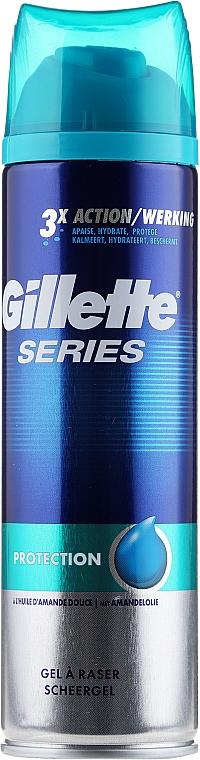 """Shaving Gel """"Protection"""" - Gillette Series Protection Shave Gel for Men"""
