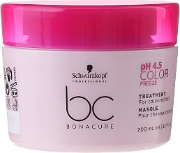 Fragrances, Perfumes, Cosmetics Colored Hair Care Mask - Schwarzkopf Professional Bonacure Color Freeze pH 4.5 Treatment