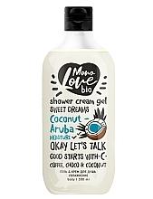 Fragrances, Perfumes, Cosmetics Moisture Shower Cream-Gel - MonoLove Bio Coconut-Aruba Moisture