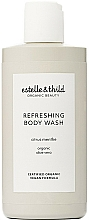 Fragrances, Perfumes, Cosmetics Refreshing Shower Gel - Estelle & Thild Citrus Menthe Refreshing Body Wash