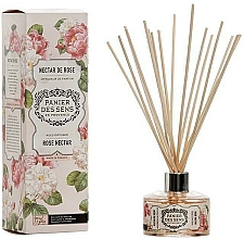 Fragrances, Perfumes, Cosmetics Rose Nectar Reed Diffuser - Panier Des Sens Rose Nectar Reed Diffuser