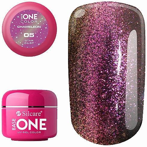 Nail Gel Polish - Silcare Base One Chameleon UV Gel Color