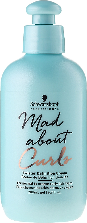 Texturizing Hair Cream - Schwarzkopf Professional Mad About Curls Twister Definition Cream