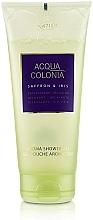 Fragrances, Perfumes, Cosmetics Maurer & Wirtz 4711 Acqua Colonia Saffron & Iris - Shower Gel