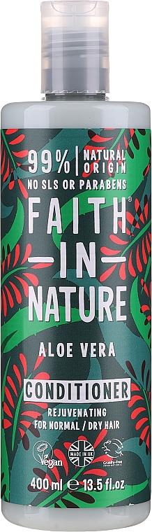 "Normal and Dry Hair Conditioner ""Aloe Vera"" - Faith In Nature Aloe Vera Conditioner"