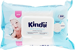 Fragrances, Perfumes, Cosmetics Baby Wet Wipes - Cleanic Kindii Skin Balance