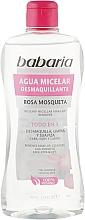 Fragrances, Perfumes, Cosmetics Micellar Water - Babaria Rose Hip Make-Up Remover Micellar Water