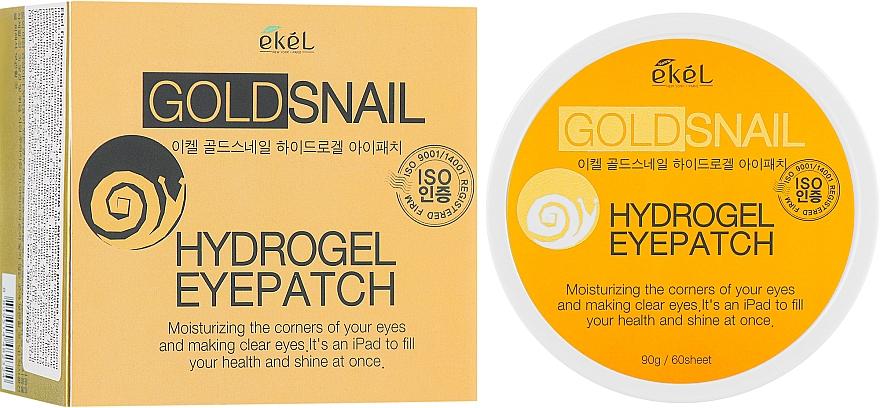 Gold & Snail Mucin Hydrogel Eye Patches - Ekel Ample Hydrogel Eyepatch