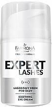 Fragrances, Perfumes, Cosmetics Soothing Eye Cream - Farmona Professional Expert Lashes Soothing Eye Cream