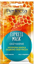 "Fragrances, Perfumes, Cosmetics Facial Mask ""Nourishing"" - Perfecta Express Mask"