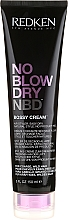 Fragrances, Perfumes, Cosmetics Styling Cream for Coarse & Unruly Hair - Redken No Blow Dry Bossy Cream