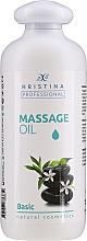 Fragrances, Perfumes, Cosmetics Massage Body Oil - Hristina Professional Basic Massage Oil