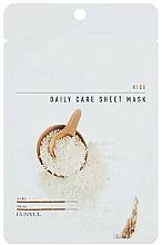 Fragrances, Perfumes, Cosmetics Facial Rice Sheet Mask - Eunyul Daily Care Mask Sheet Rice