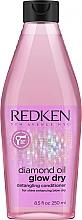 Fragrances, Perfumes, Cosmetics Hair Conditioner - Redken Diamond Oil Glow Dry Conditioner