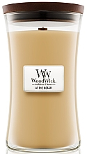 Fragrances, Perfumes, Cosmetics Scented Candle in Glass - Woodwick At The Beach
