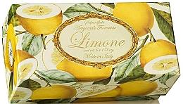 "Fragrances, Perfumes, Cosmetics Toilet Soap Set ""Lemon"" - Saponificio Artigianale Fiorentino Lemon (Soap/6x50g)"