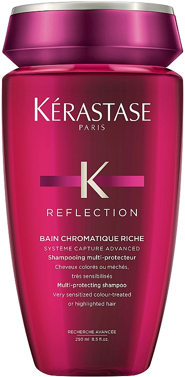Colored Hair Shampoo - Kerastase Reflection Bain Chromatique Riche Shampoo