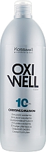 Fragrances, Perfumes, Cosmetics Oxidizing Emulsion 3% - Kosswell Professional Oxidizing Emulsion Oxiwell 3% 10vol