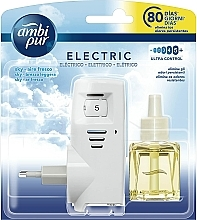 "Fragrances, Perfumes, Cosmetics Aromatization Set ""Sky"" - Ambi Pur (diffuser/1szt+refill/21.5ml)"