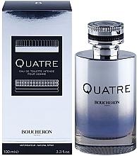 Fragrances, Perfumes, Cosmetics Boucheron Quatre Boucheron Intense Pour Homme - Eau de Toilette