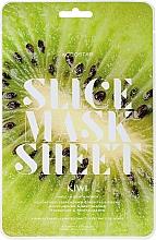 "Fragrances, Perfumes, Cosmetics Facial Slice Mask Sheet ""Kiwi"" - Kocostar Slice Mask Sheet Kiwi"