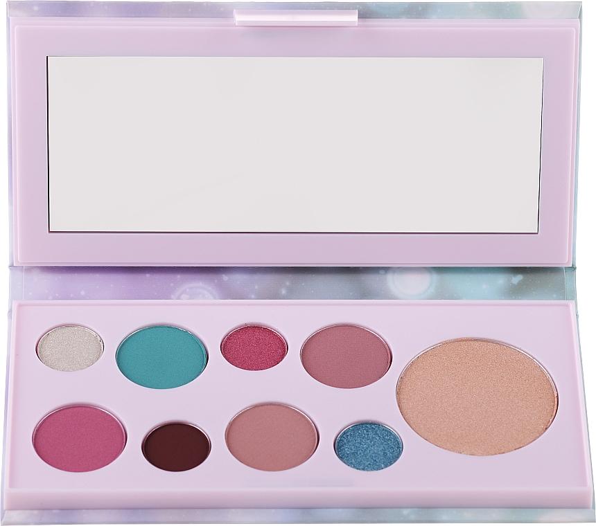 Eyeshadow & Highlighter Palette - Avon Mark Pearlesque Treasure Palette For Eyes & Face