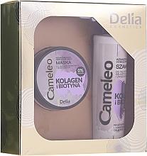 Fragrances, Perfumes, Cosmetics Set - Delia Cameleo (shm/250ml + mask/200ml)