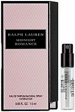 Fragrances, Perfumes, Cosmetics Ralph Lauren Midnight Romance - Eau de Parfum (sample)