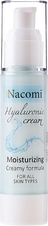 Face Cream-Gel - Nacomi Hyaluronic Cream