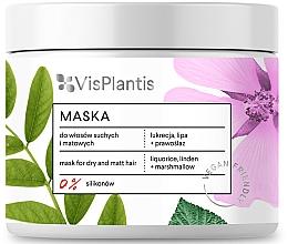 Fragrances, Perfumes, Cosmetics Dry Hair Mask - Vis Plantis Hair Mask