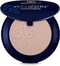 Fragrances, Perfumes, Cosmetics Powder Foundation - Dermacol Wet & Dry Powder Foundation