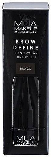 Brow Gel - MUA Brow Define Long-Wear Brow Gel