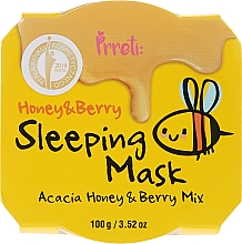 Fragrances, Perfumes, Cosmetics Nourishing Night Mask with Acacia Honey & Wild Berries - Prreti Honey & Berry Sleeping Mask