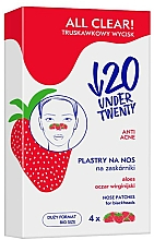 Fragrances, Perfumes, Cosmetics Cleansing Nose Pore Strips - Under Twenty Anti! Acne All Clear! Nose Strip