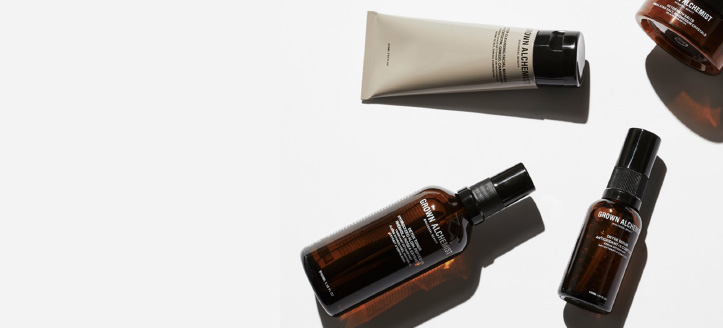 Get a free mini-size day cream when buying any brand Grown Alchemist product