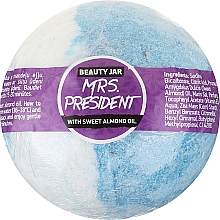 Fragrances, Perfumes, Cosmetics Bath Bomb with Sweet Almond Oil - Beauty Jar MRS. President