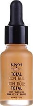 Fragrances, Perfumes, Cosmetics Long-Lasting Foundation - NYX Professional Makeup Total Control Drop Foundation