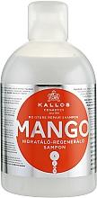 "Fragrances, Perfumes, Cosmetics Hair Shampoo ""Mango"" - Kallos Cosmetics Mango"