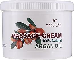 Fragrances, Perfumes, Cosmetics Natural Massage Argan Oil Cream - Hrisnina Cosmetics 100% Natural Massage Cream Argan Oil