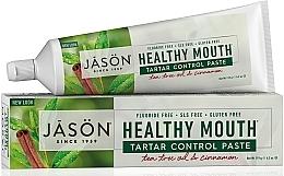 "Fragrances, Perfumes, Cosmetics Toothpaste ""Tartar Control"" - Jason Natural Cosmetics Healthy Mouth Tartar Control Toothpaste"