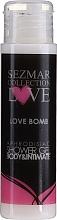 Fragrances, Perfumes, Cosmetics Shower Gel - Sezmar Collection Love Love Bomb Aphrodisiac Shower Gel (mini size)