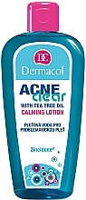 Fragrances, Perfumes, Cosmetics Lotionfor Problem Skin - Dermacol AcneClear Calming Lotion