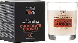 "Fragrances, Perfumes, Cosmetics Natural Massage Candle ""Chocolate"" - Sezmar Collection"