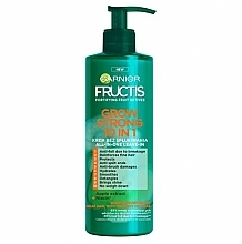 Fragrances, Perfumes, Cosmetics Strengthening Hair Cream - Garnier Fructis Grow Strong 10in1 Cream