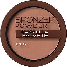 Fragrances, Perfumes, Cosmetics Bronzing Powder - Gabriella Salvete Bronzer Powder SPF15