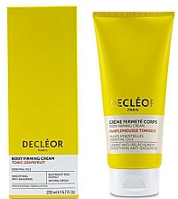 Fragrances, Perfumes, Cosmetics Nourishing & Firming Body Cream with Grapefruit - Decleor Tonic Grapefruit Body Firming Cream