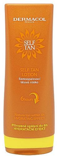 Self-Tan Body Milk - Dermacol Sun Self Tan Lotion